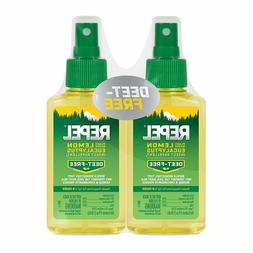 REPEL HG-24109 Lemon Eucalyptus Natural Insect Repellent wit