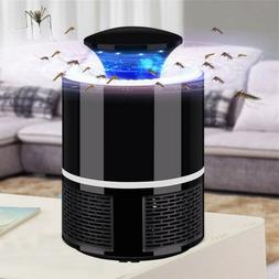 Home Safe USB Electric LED Mosquito Insect Killer Lamp Fly B