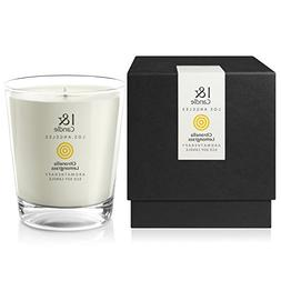 I & CANDLE, CITRONELLA & LEMONGRASS AROMATHERAPY ECO SOY CAN