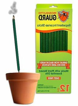 Mosquito Guard Incense Repellent Sticks – 12 Inch Incense