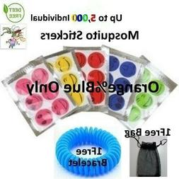 insect mosquito repellent stickers patch natural deet
