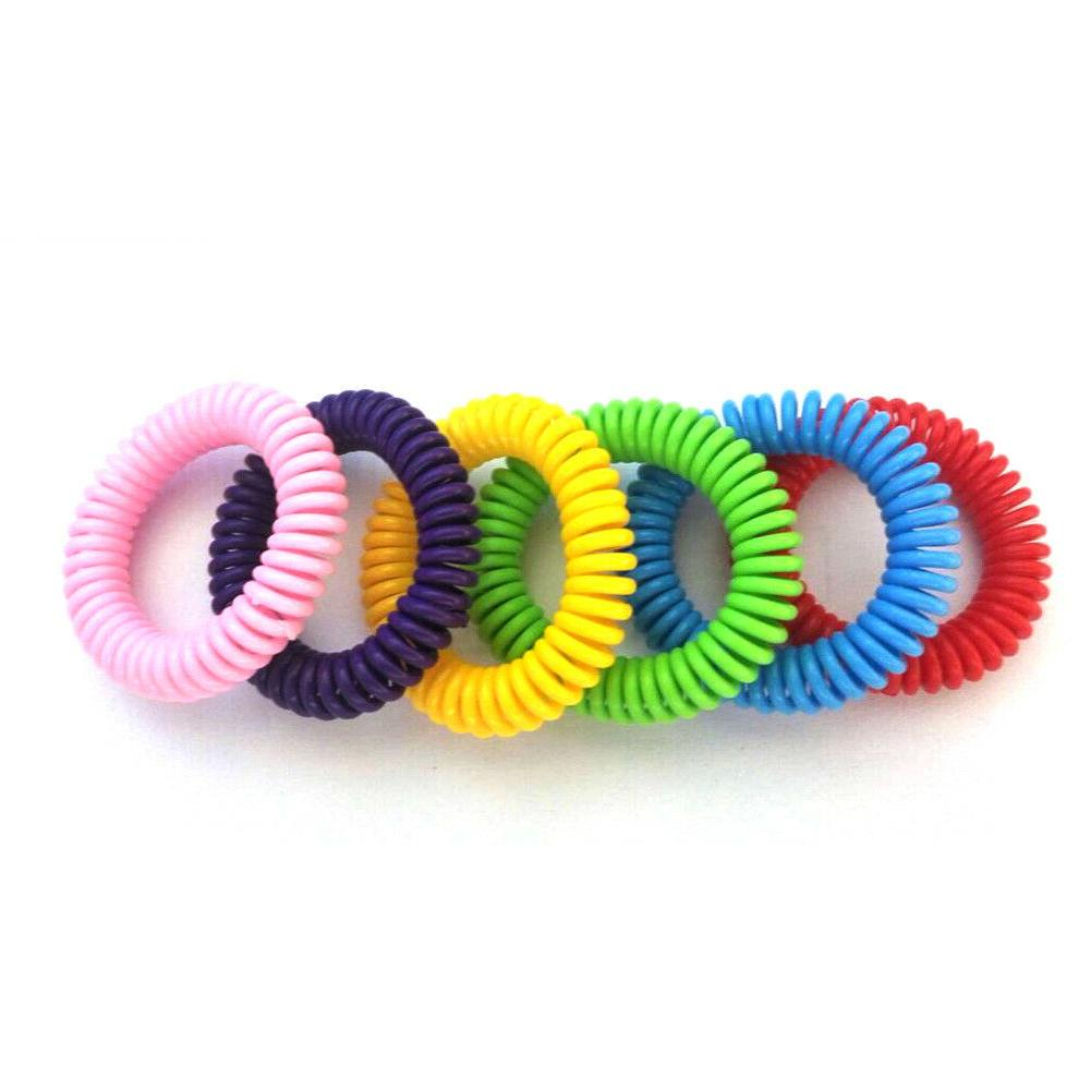18 Pack Mosquito Repellent Bracelet Band Insect Bug
