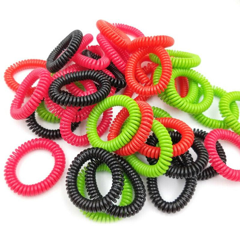 18X Elasticity Rubber Band Elastic Hairbands Hair Rope For G