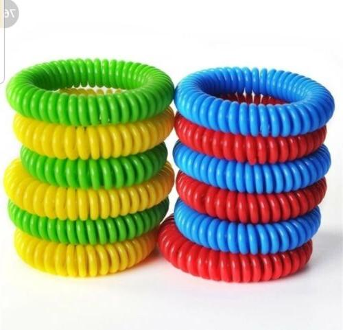 30 Pack Repellent Bracelet camping protection