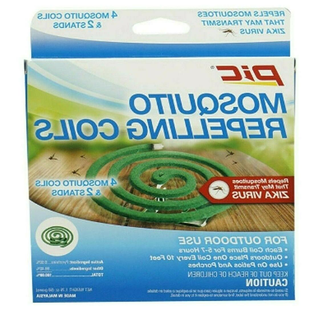 PIC Mosquito Coils- 2 porches, Outdoor use