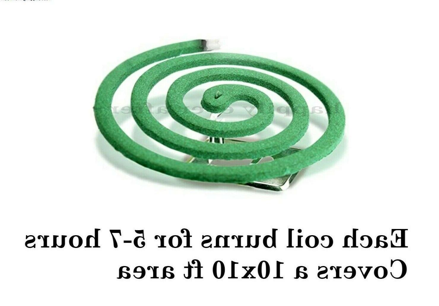 PIC Mosquito Repellent Coils- 2 Box! Patios, Outdoor use