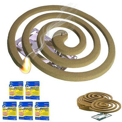 5pk mosquito repellent 20 coils outdoor use