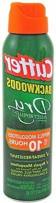 Cutter Backwoods Dry Aerosol 25% DEET, 4 oz