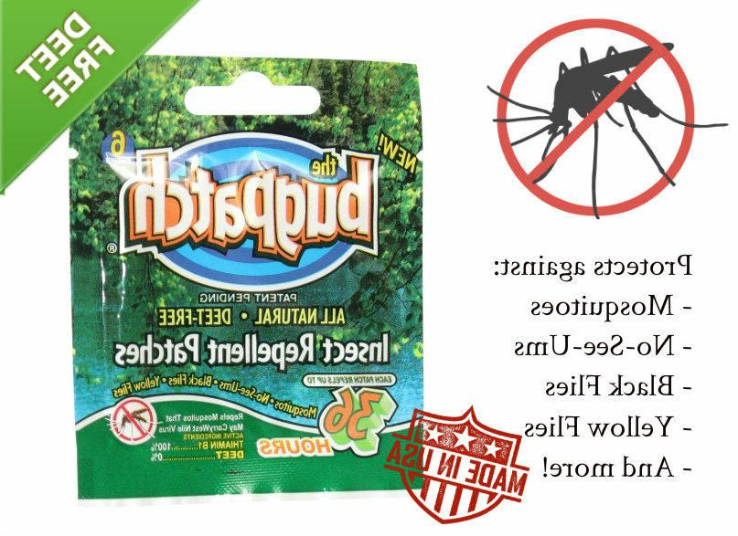 bug patch deet free insect repellent mosquito
