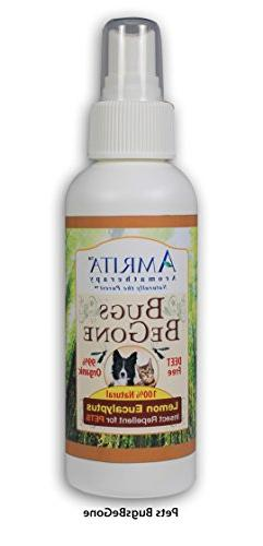 Bugs BeGone for Pets by Amrita Aromatherapy - Includes Essen