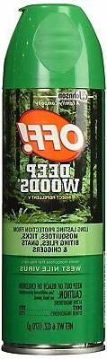 OFF! Deep Woods Insect Repellent 6 Ounce Spray