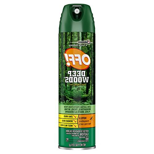 deep woods insect repellent v