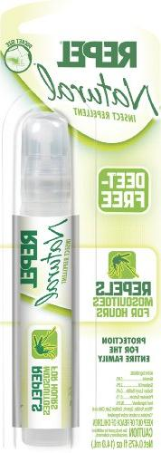 Repel Natural Insect Repellent DEET-Free, Pen-Size Pump Spra