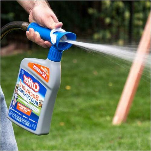 Lor of 6 Cutter Backyard Bug Control Spray Concentrate, 32-O