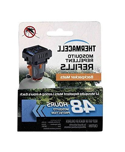 Thermacell M48 Backpacker Mosquito Repellent MR-BP Repeller