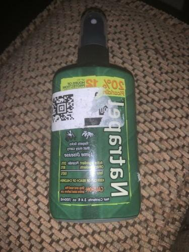 Natrapel 12-Hour Mosquito, Tick and Insect Repellent, 3.4 Ou