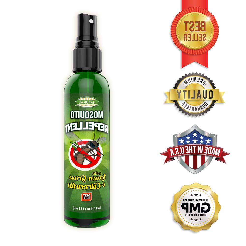 mosquito repel insect deet free 4oz pump