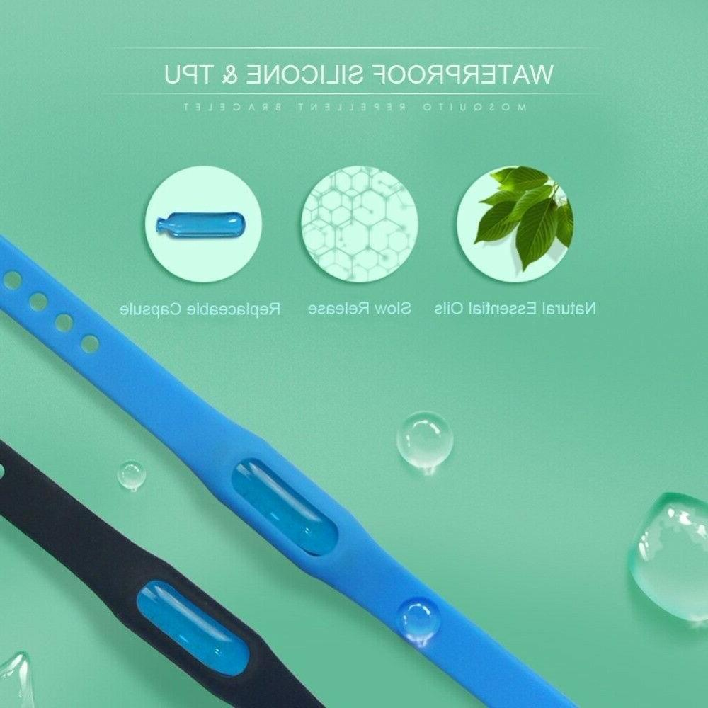 Mosquito Repellent Bracelets, Bugs Pack