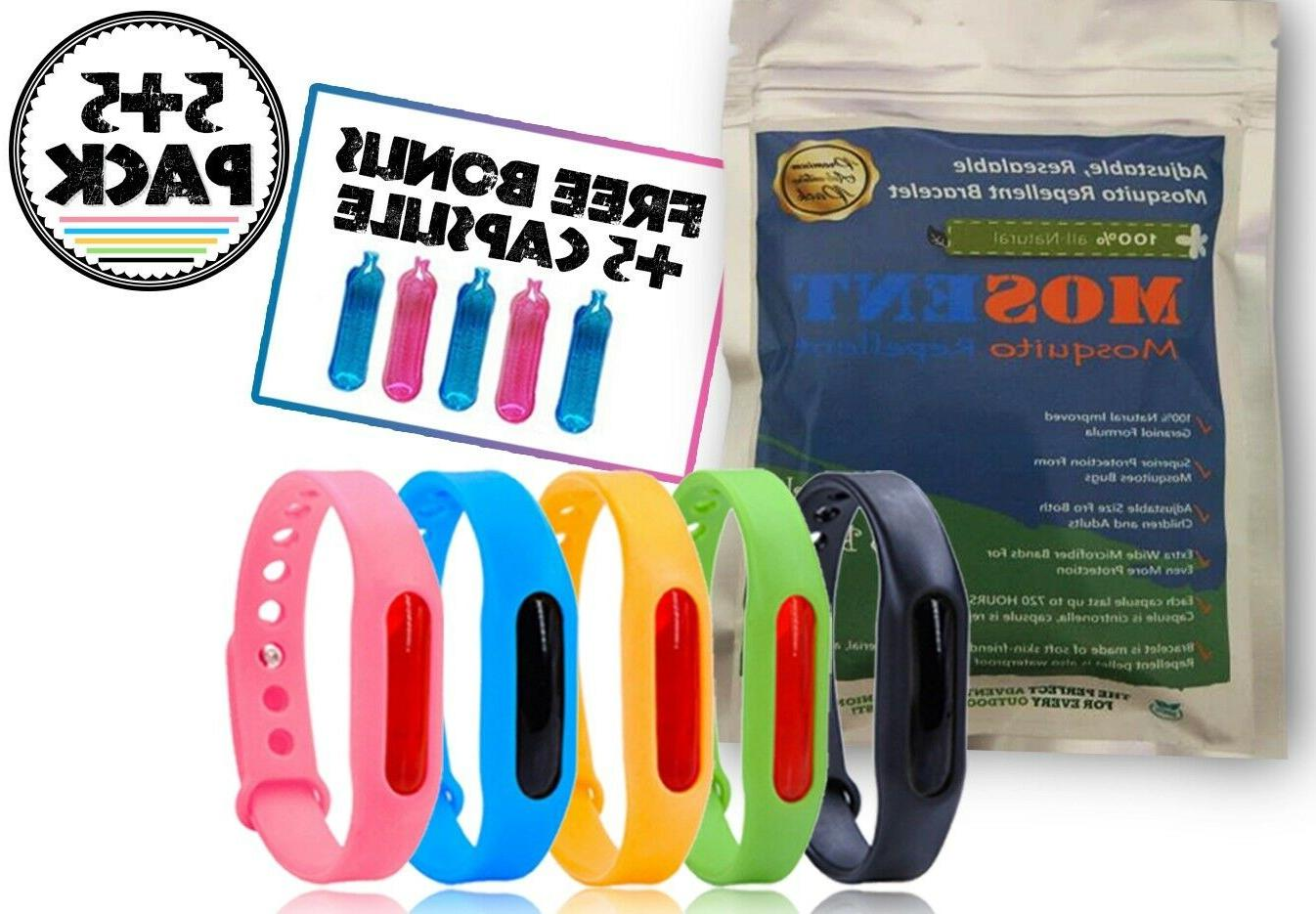 mosquito repellent bracelets insect bugs repeller wristband