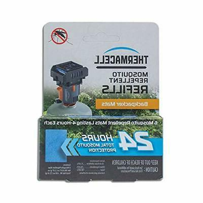 ThermaCELL Mosquito Repellent Mat Only Refill Backpacker-24