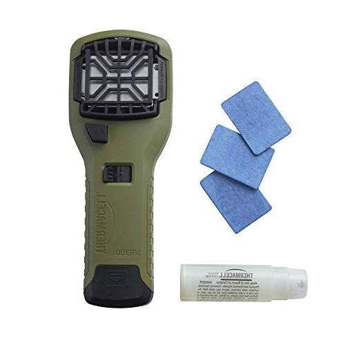 Thermacell MR300 Portable Mosquito Cartridge Repellent Mats Providing Zone for 12 Hours of Mosquito-Free Relief; No Spray