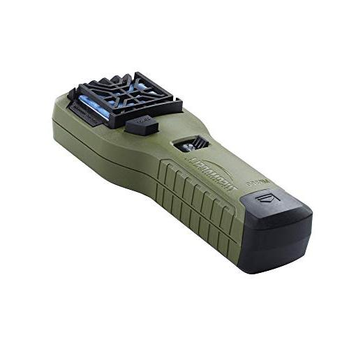 Thermacell Repeller, Contains Fuel Cartridge and Repellent Mats Providing 15-ft Zone 12 Hours of Relief;