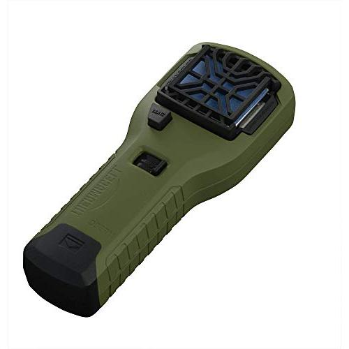 Thermacell MR300 Portable Repeller, Cartridge and 3 Repellent Mats 15-ft Zone of 12 of Mosquito-Free Relief; No Spray