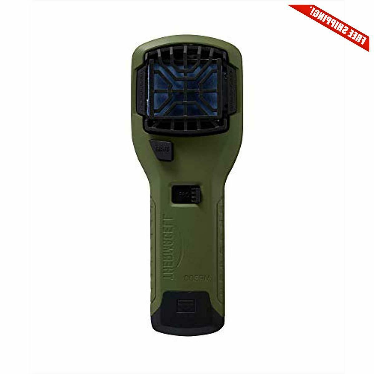mr300 portable mosquito repeller olive green contains