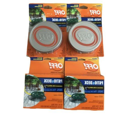 off patio and deck mosquito repellent lot