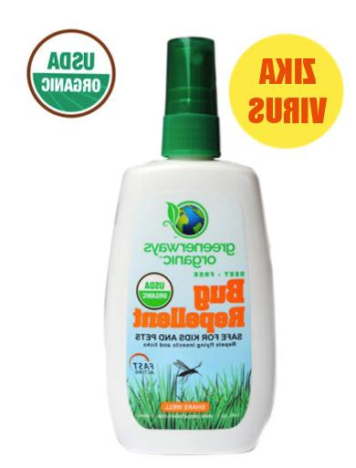 Greenerways Organic, Insect Repellent, Premium, USDA Organic