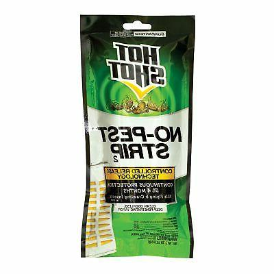 Hot Shot No-Pest Strip, Kills Flying And Crawling Insects, P