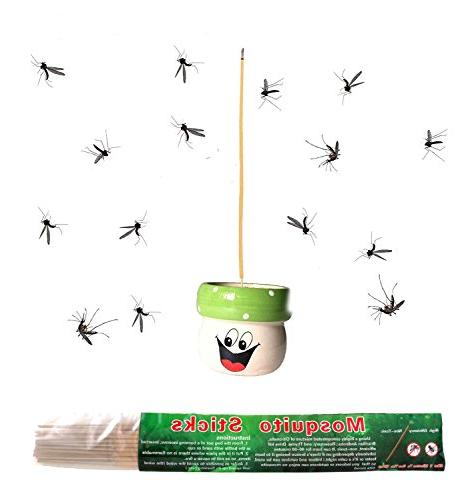 plant based mosquito sticks quickly