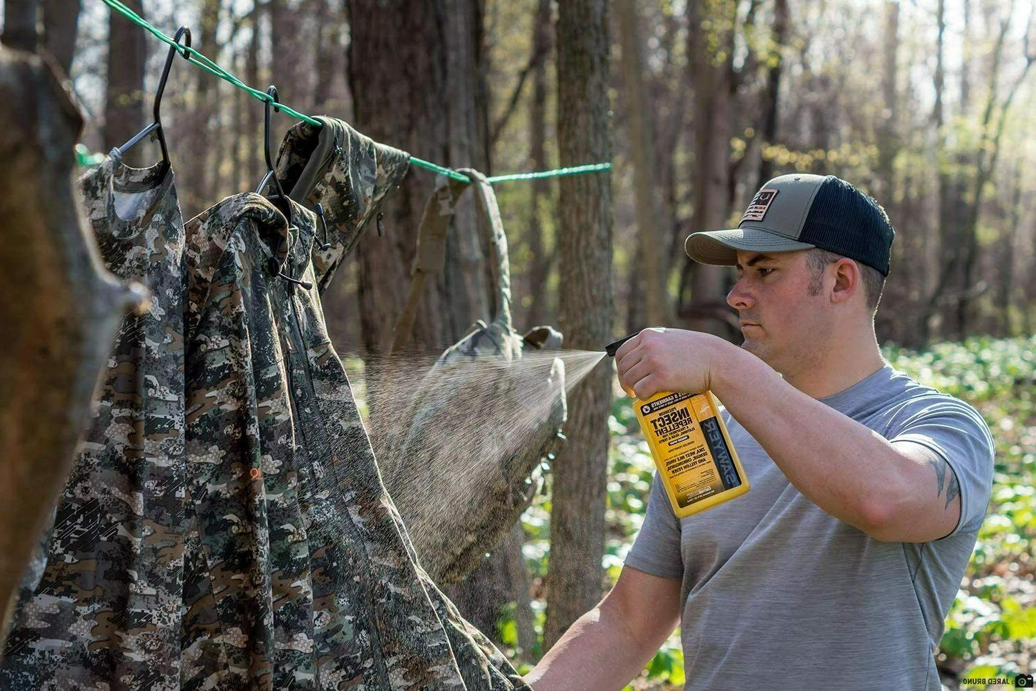 Sawyer Premium Permethrin Mosquito Insect Repellent Spray Gear & Tents