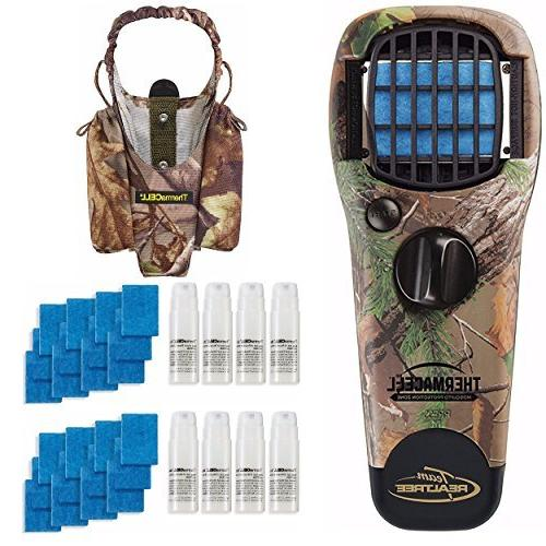 realtree portable mosquito repeller device