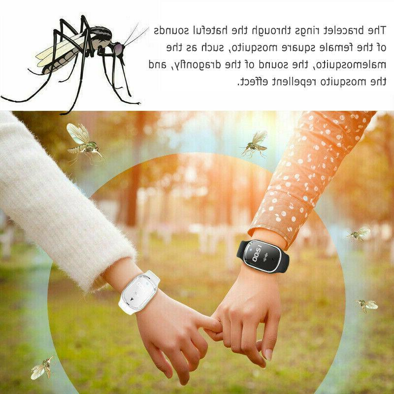 Ultrasonic mosquito Insect Pest Wrist Bracelet US