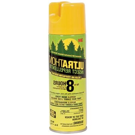 Ultrathon Insect Repellent 8 Aerosol, Fresh Outdoor Scent, 6