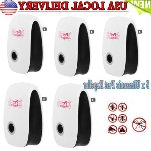 US Ultrasonic Electronic Indoor Anti Mosquito Insects Pest M