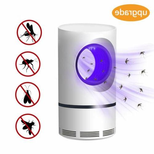 USB Mosquito Electric Repellent Trap UV Light Nontoxic
