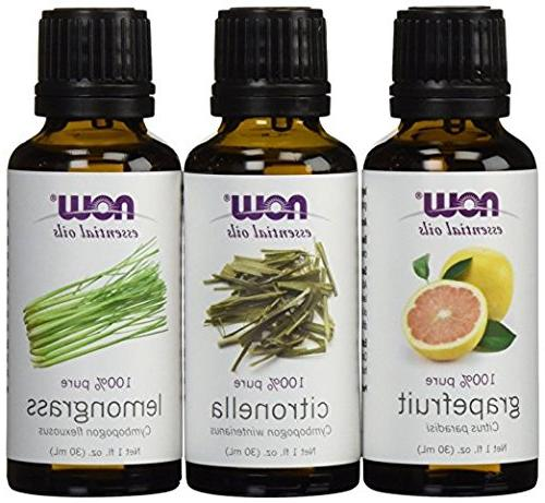 variety essential oils mosquito