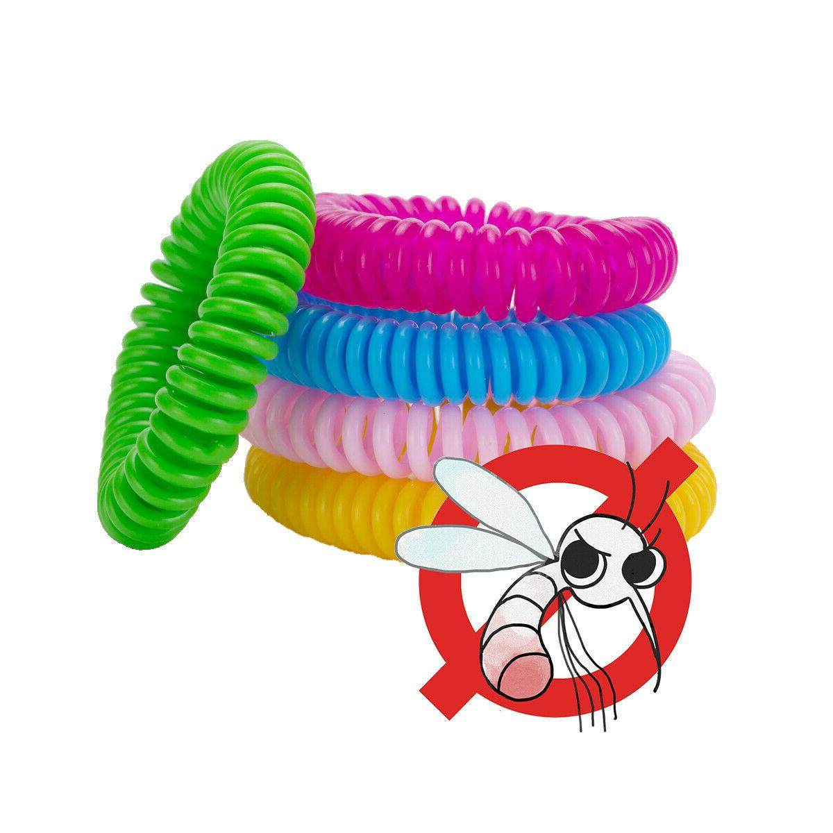 10 Repellent Bracelet Bug Protection Deet-Free