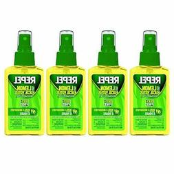 Repel Lemon Eucalyptus Natural Insect Repellent, 4-Ounce Pum