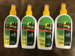Lot Of 4 3M Ultrathon Insect Mosquito Repellent Pump Up To 3