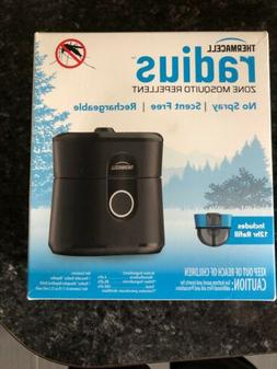 Thermacell LZ1 Rechargeable Radius Zone Mosquito Repellent -