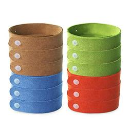 Kinven Microfiber Anti Mosquito Bracelet - Insect Repellent,