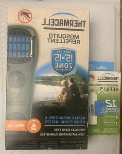 THERMACELL Mosquito Insect Repellent 15'x15' Zone OUTDOO