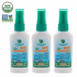 Greenerways Organic Mosquito Insect Repellent Travel Size, P