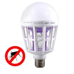 Mosquito Killer LED Bulb 15W LED Bug Zapper Lamp Insect Repe