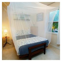 Premium Mosquito Net for Queen/Double/Single Bed by Tedderfi