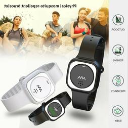 Mosquito Pest Bugs Monitor Repellent Wristband Smart Watch R