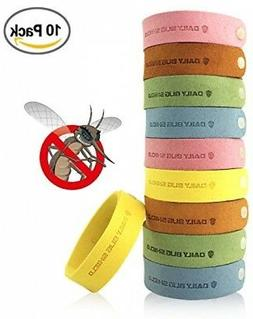 Kpow Mosquito Repellent Bracelet,10pcs Insect And Bug Repell
